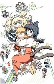 Постер Кошачья богиня из Яоёродзу OVA 2012