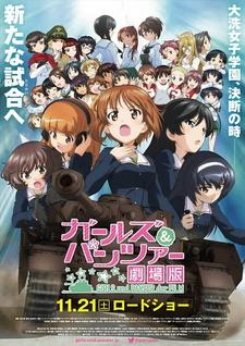 Постер Девушки и танки 2015