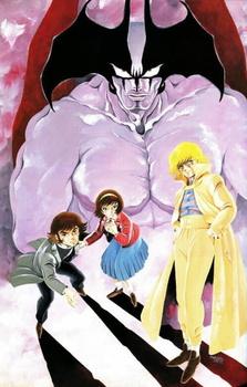 Постер Человек-дьявол OVA-1 1987