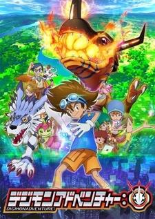 Постер Приключения Дигимонов 2020