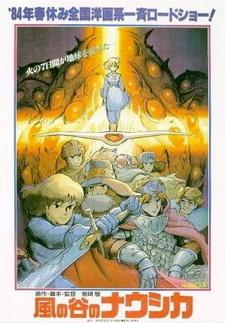 Постер Навсикая из долины ветров 1984