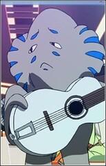Guitar-Playing Alien