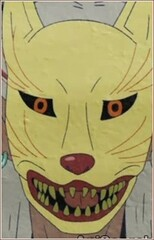 Man in Fox Mask