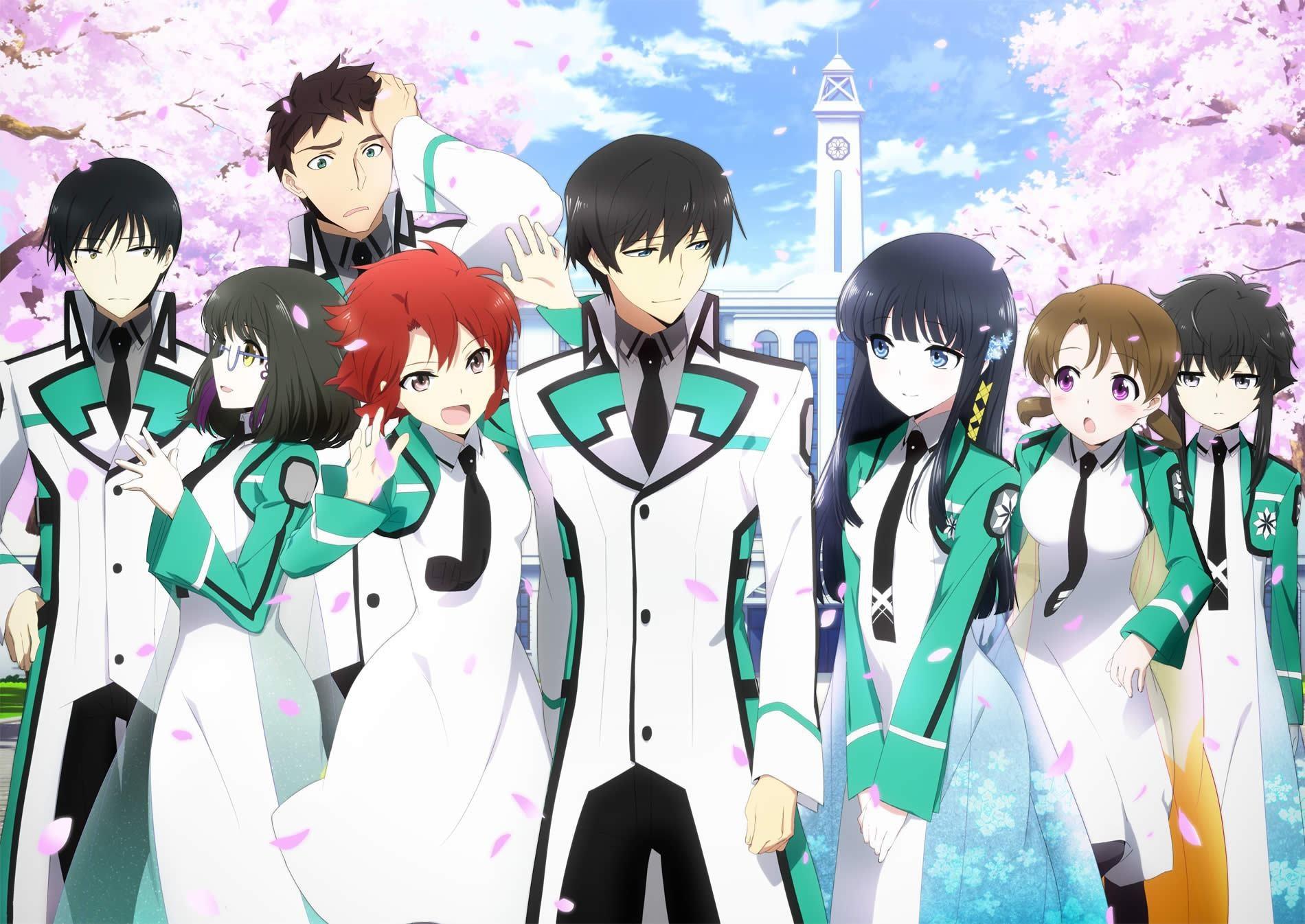 anime непутевый ученик в школе магии